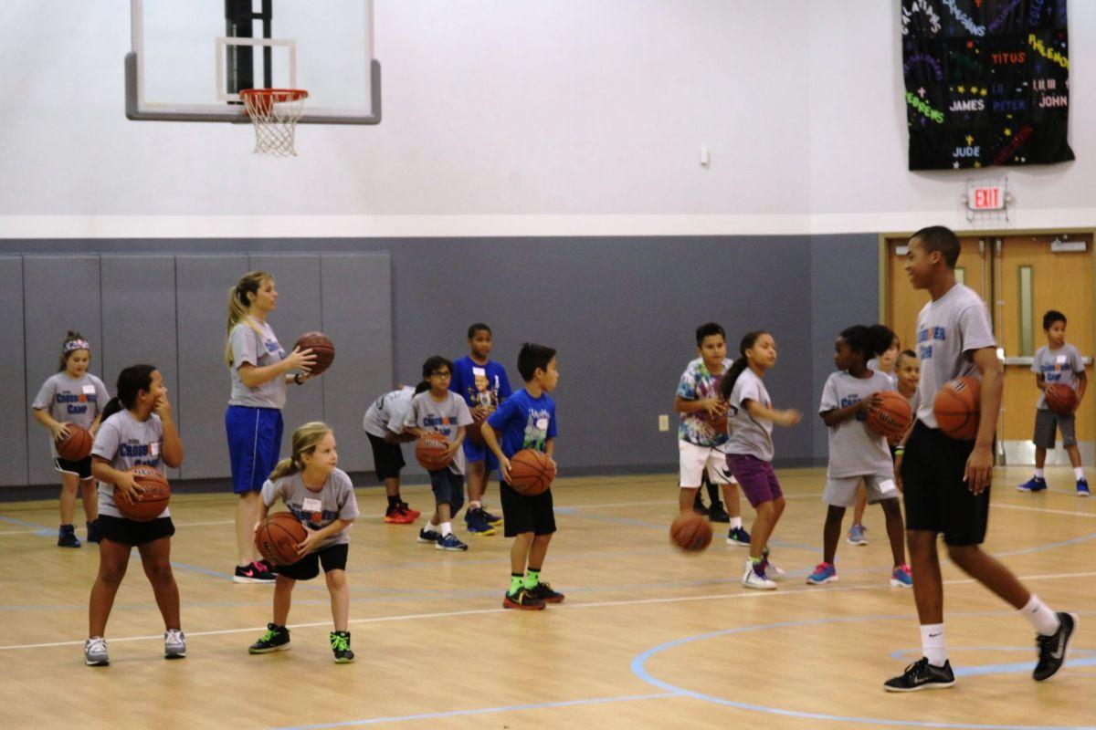 Basketball Camp Teaches Players