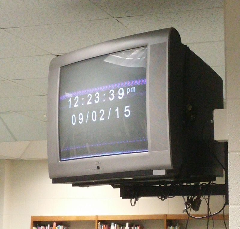 Wallmounted TVs being removed from Horry classrooms