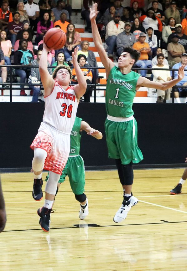 Eagles win district opener against Refugio Sports