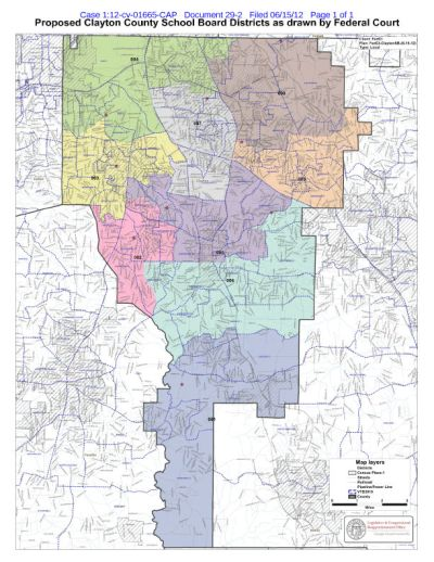 Map Of Clayton County Ga : clayton, county, Clayton, County, Catalog, Online