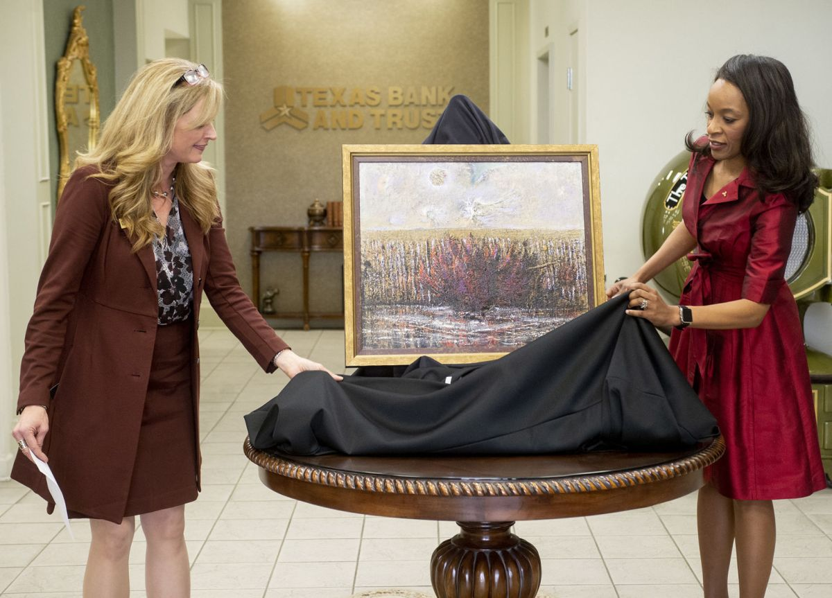 Longview Museum Of Fine Arts Unveils Painting Bank Local