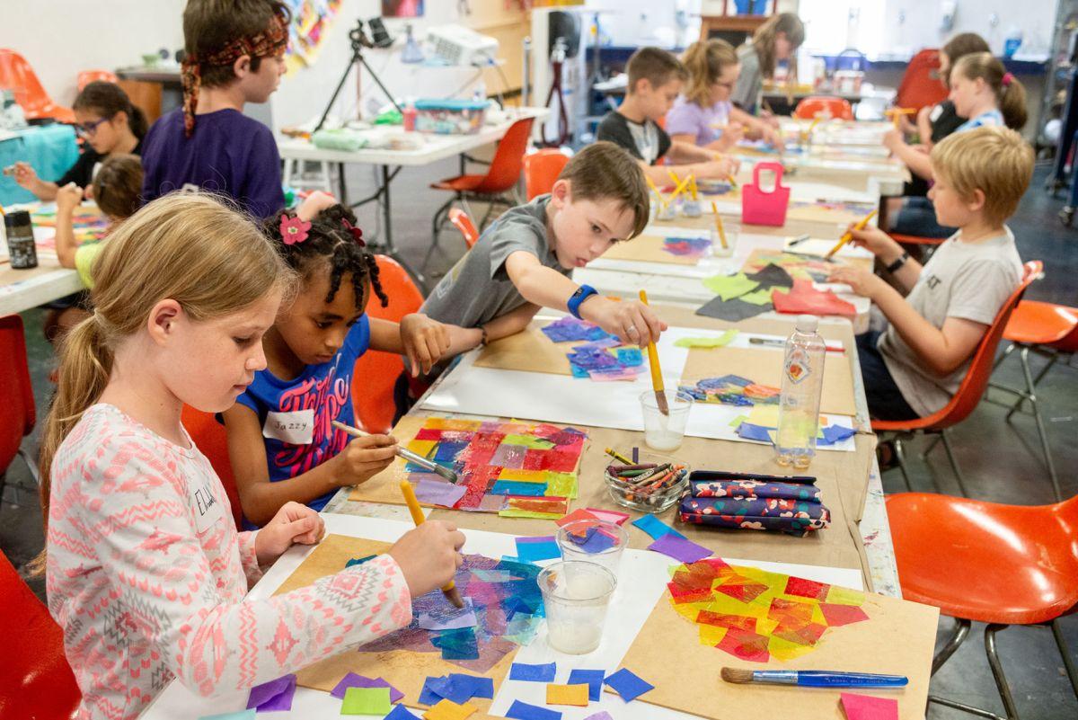 Artapalooza Children Chance Explore Art Mediums Local