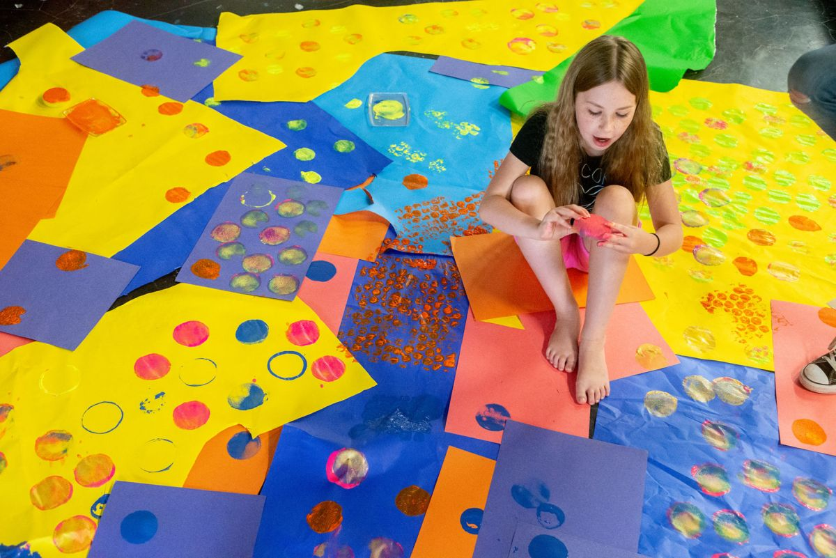 Pop Of Color Artworks Offers Art Summer Class Museum Fine Arts Local