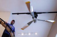 Pilot makes DC-6 propeller the hub of his Chena Ridge home ...