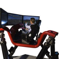 Hydraulic Racing Simulator Chair Swinging Chairs Outdoors Virtual Arrives In Indy Sports Nuvo Net