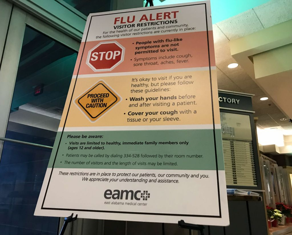 EAMC enacts visitor restrictions to help fight flu | Local News ...