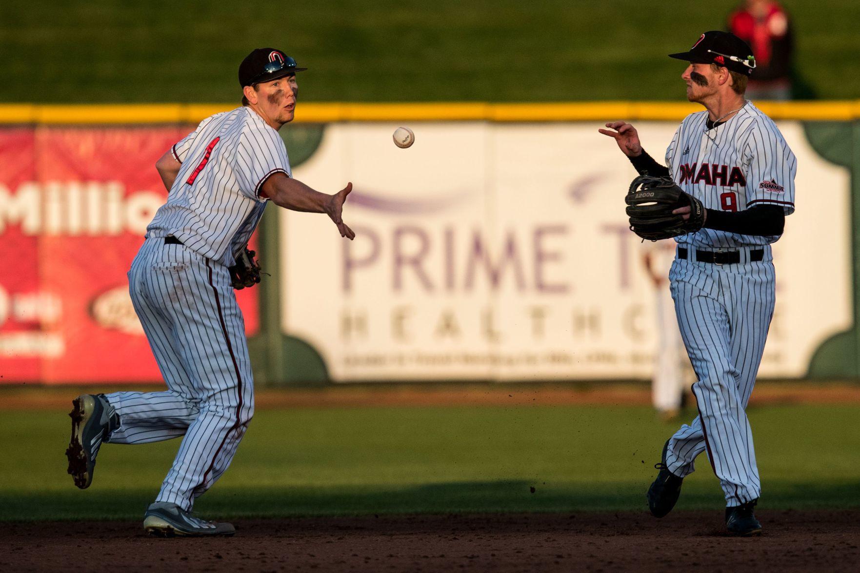 Photos Uno Vs Nebraska Baseball At Werner Park Sports