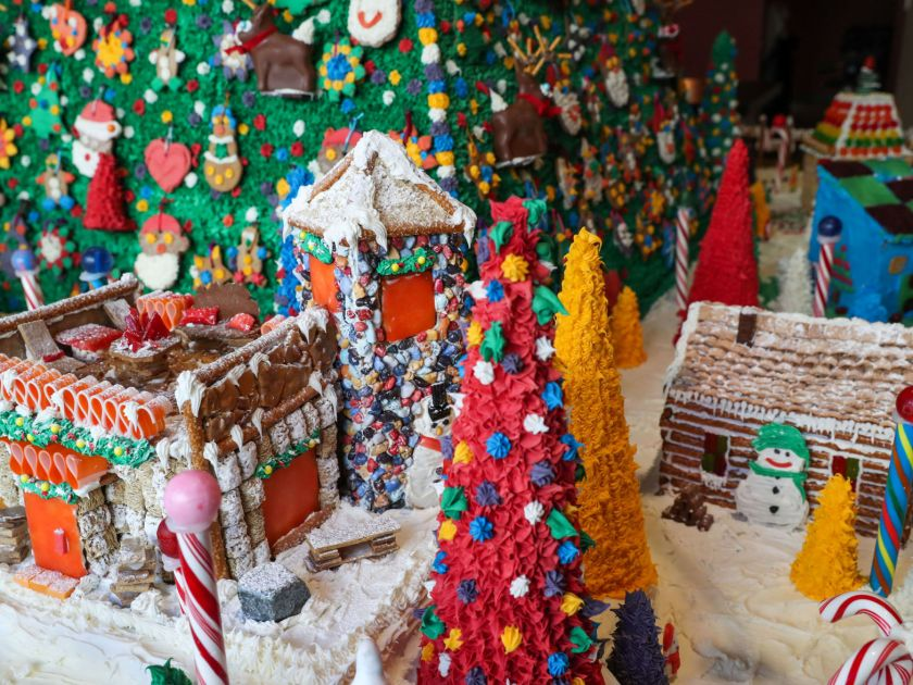 Create gingerbread houses ugly holiday sweaters plus 26