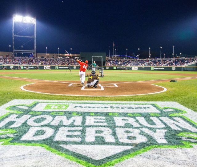 Nations Top Sluggers Highlight College Home Run Derby Field Cws Omaha Com