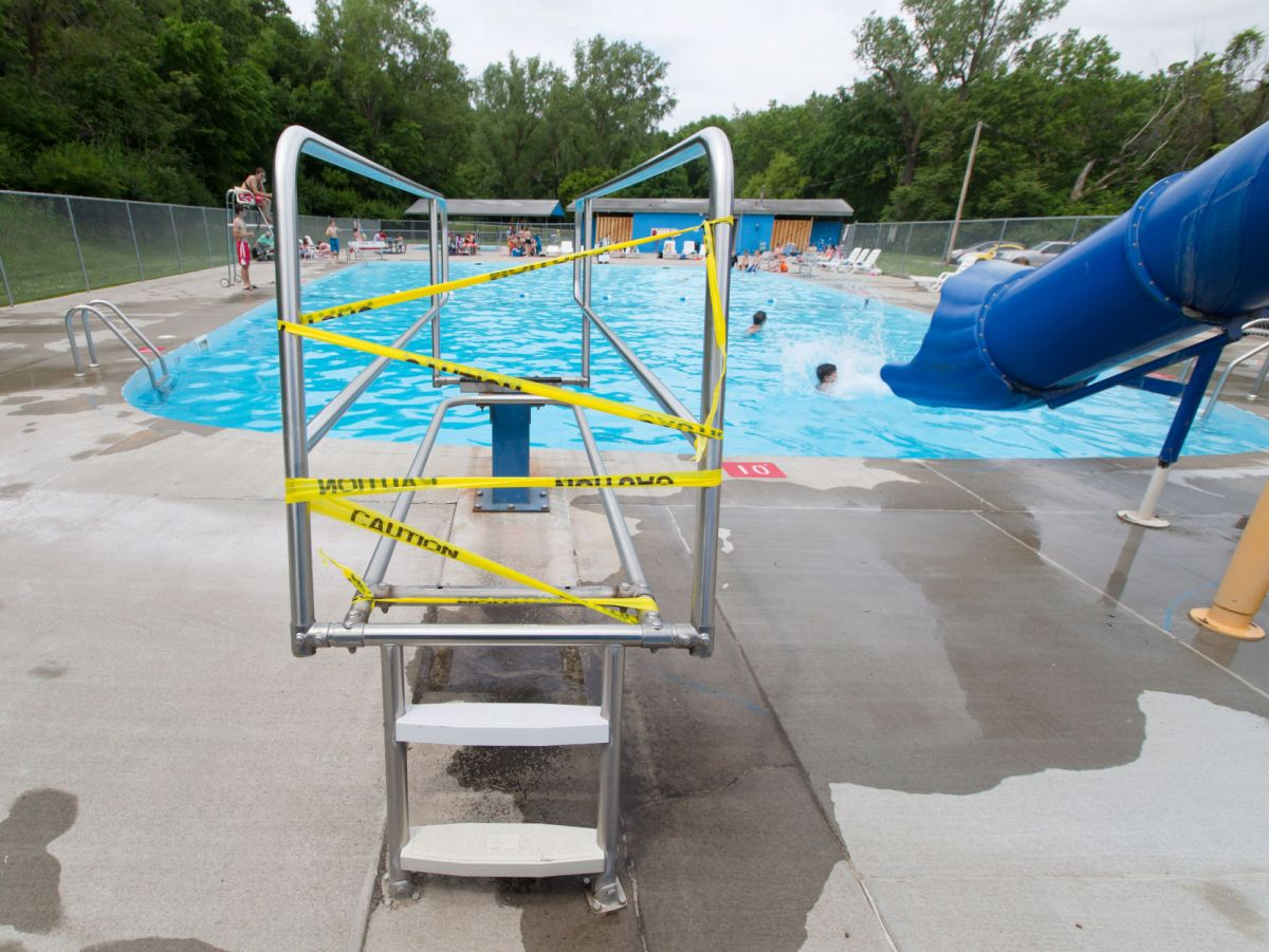 Diving Boards Removed Bellevue City Pools