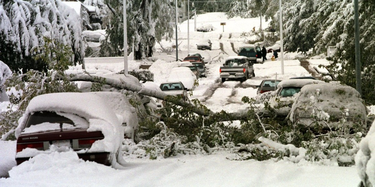 Oct. 26, 1997: Early snowstorm