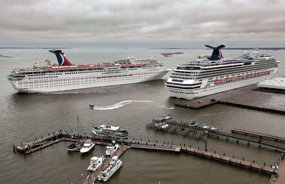 Carnival Crusie Ship Making Emergency Stop At Port Of Charleston Tuesday Business