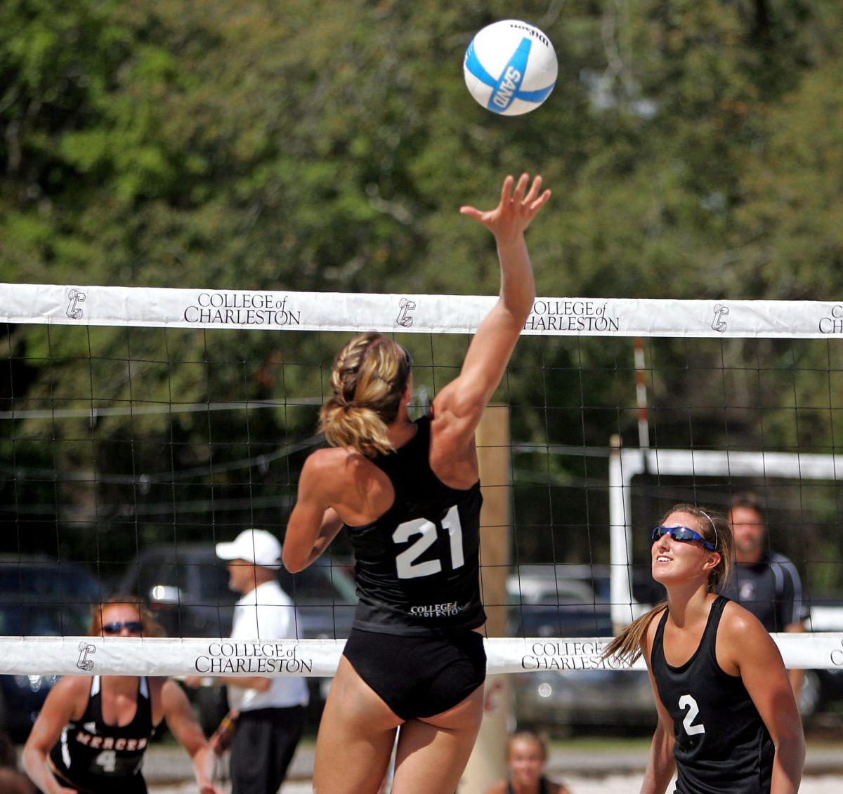 College of Charleston Sand Volleyball