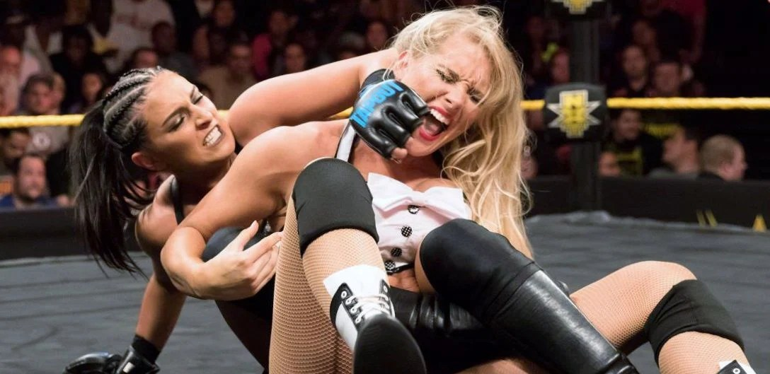From The Marines To The Mat Sky Is The Limit For NXTs Lacey Evans Wrestling