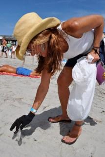Cigarette Butts Lead Beach Trash Clean