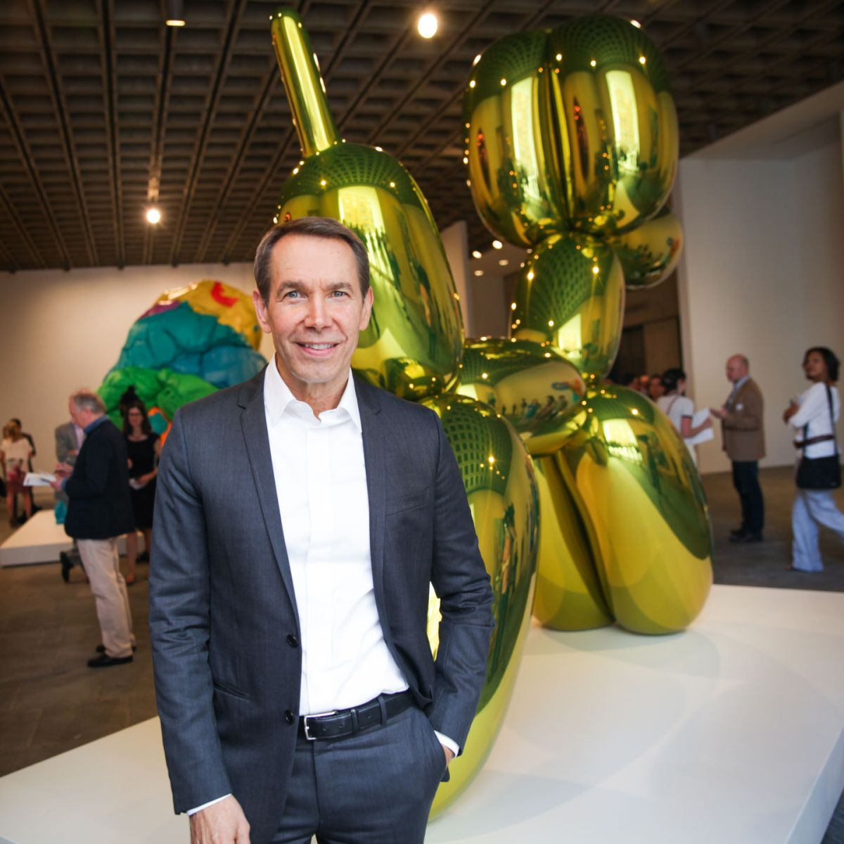 Artist Jeff Koons World-famous And Controversial