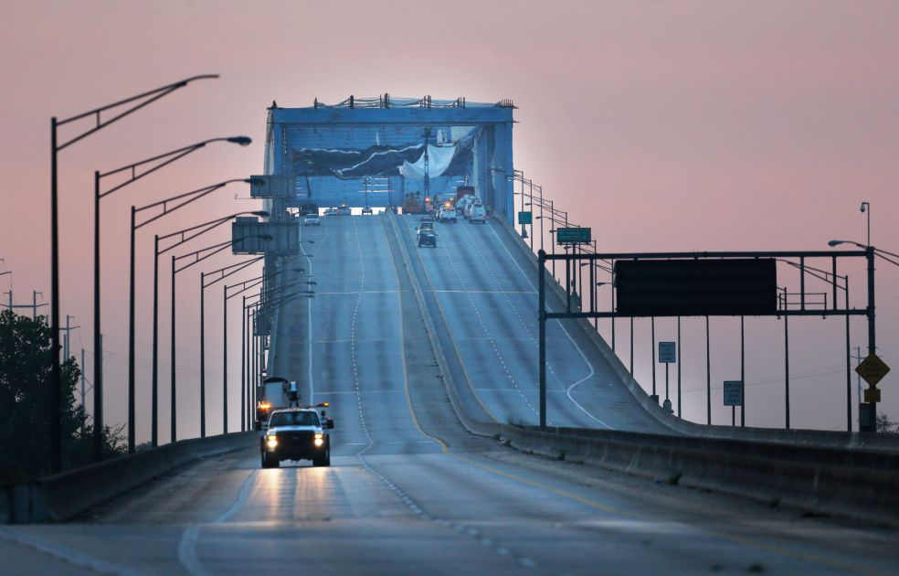 911 Caller Warned About Loose Tarp On Don Holt Bridge Days
