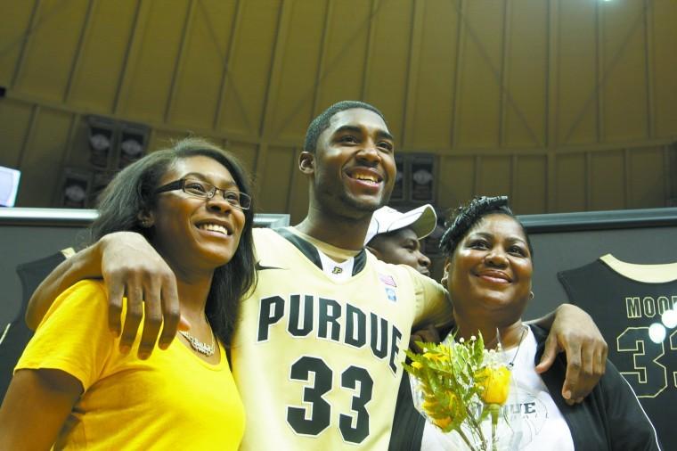 Moores Family Eagerly Awaits Draft Basketball