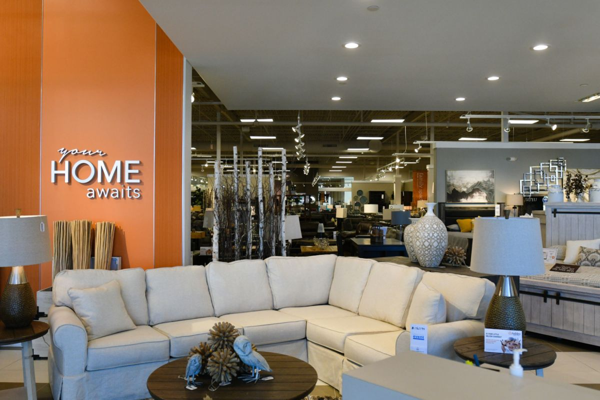 Ashley Homestore Boosts Illinois Side With Store At Mall
