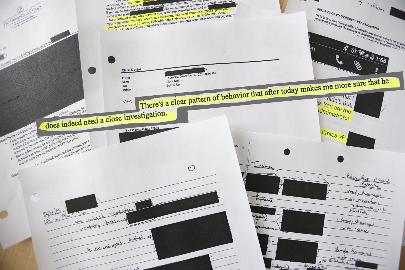 EOO investigation documents