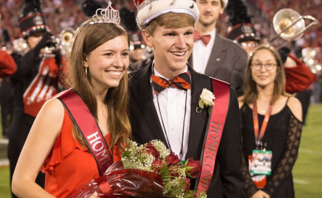 Breaking Uga Crowns New Homecoming King And Queen