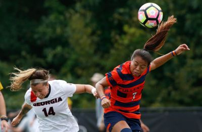 Georgia Women S Soccer Falls To Iowa State 2 0 In Auburn
