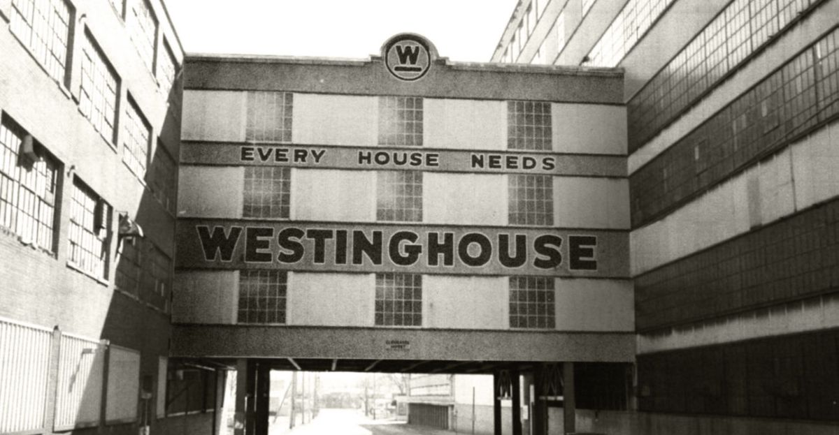 Westinghouse Office on Fourth St in the 1930s  Area