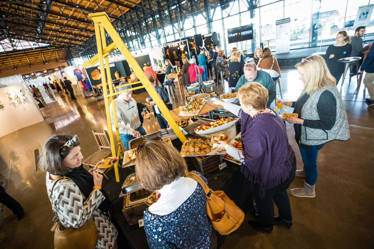 More Than 150 Local And National Artists Make Craft Design At Main Street Station S Train Shed A Richmond Treasure Art Museums Richmond Com
