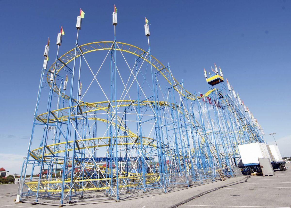Roller Coasters Cross America - And Present