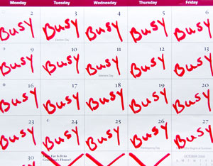 Image result for crazy schedules