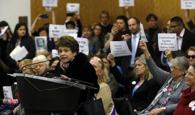 Women pack committee rooms demanding Virginia debate Equal Rights Amendment