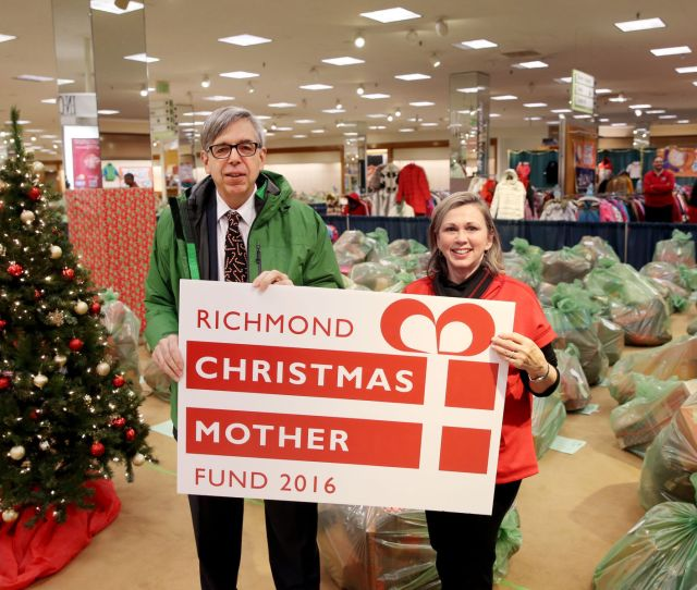 Richmond Christmas Mother Shared Holiday Cheer Through Salvation Army Feedmore And  Community Grants Richmond Christmas Mother Fund Coverage From