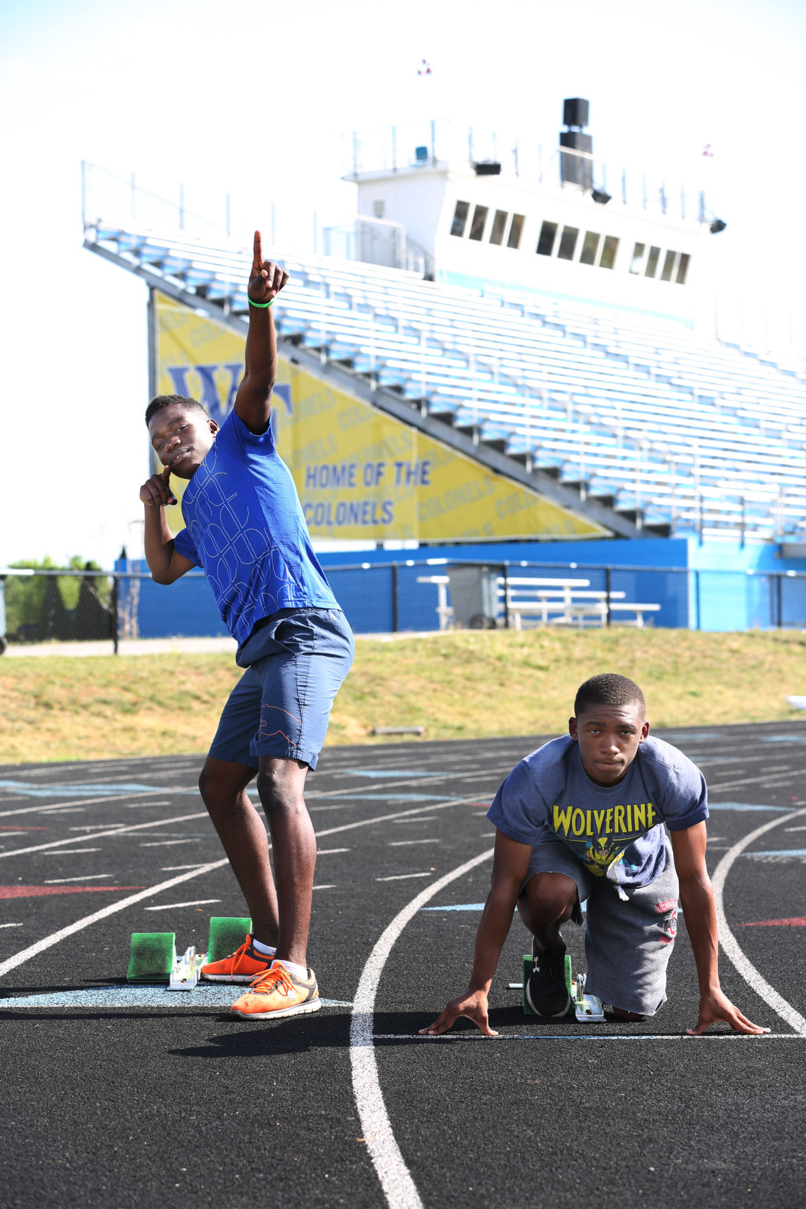 Fleming Duo Bolt To Top Of Timesland Track And Field