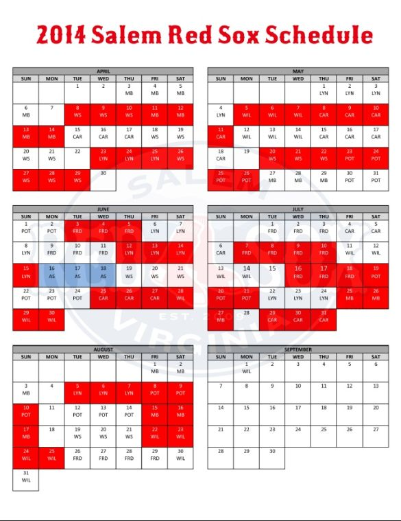red sox schedule # 39