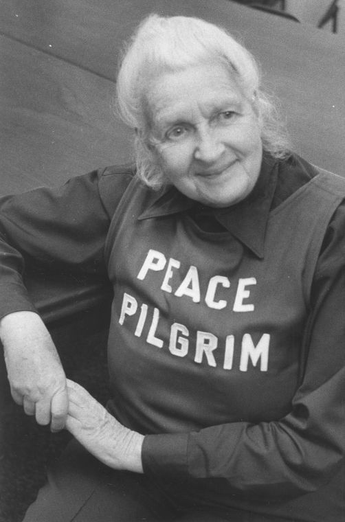 Image result for peace pilgrim