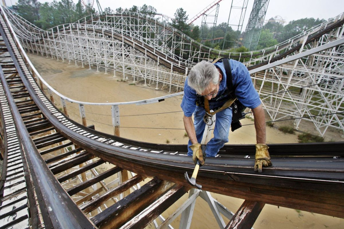 Kings Dominion Renaming Iconic Rebel Yell Roller Coaster