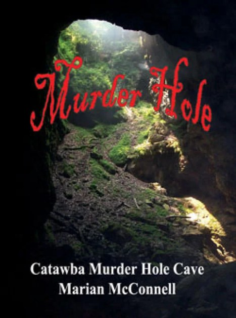 Book review Catawba Murder Hole Cave  Back Cover  roanokecom