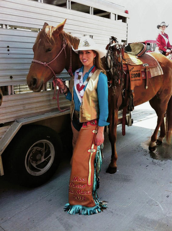 Alexandria Tapia is citys first cowgirl to hold states Miss Rodeo crown since 1969  Local