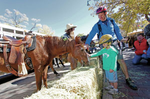 Thundering Hooves event on Plaza draws awareness to horse welfare issues