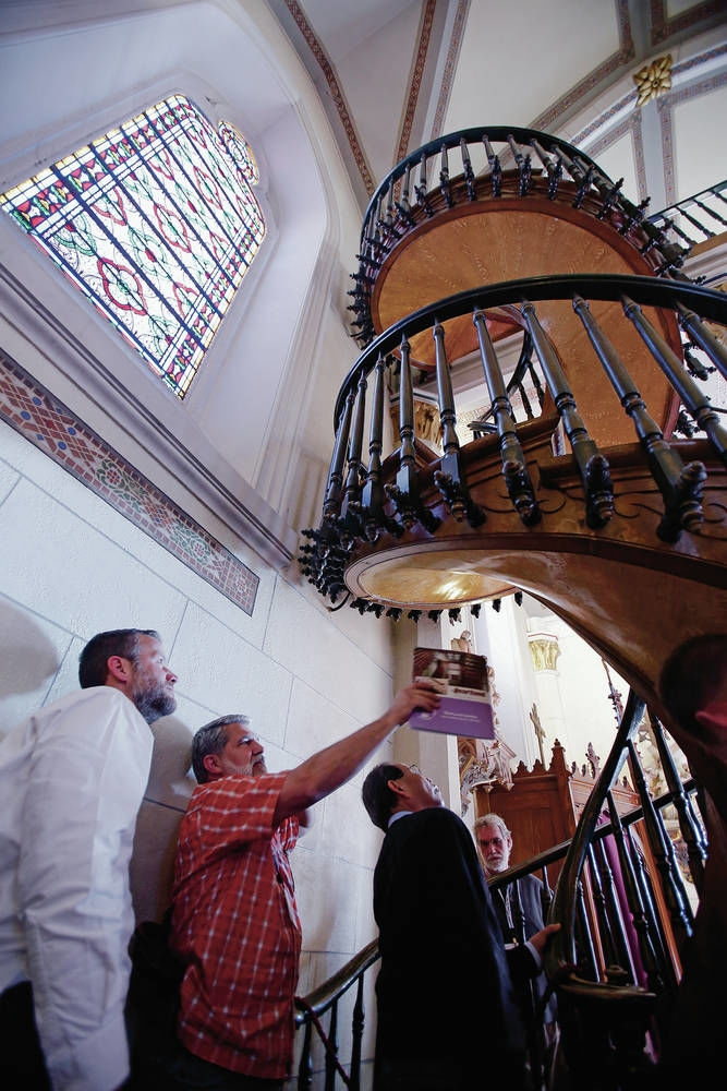 Experts Consider Miracle Stairs In Santa Fe S Loretto Chapel | Staircase Builders Near Me | Stair Treads | Stair Case | Deck | Stair Parts | Handrail
