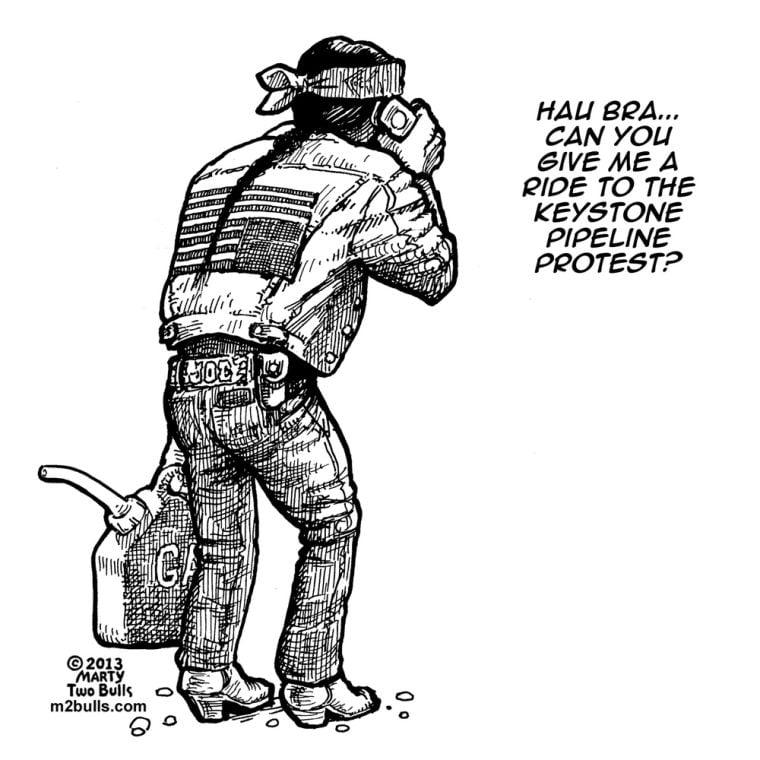 Cartoonist living in Santa Fe tackles Native American