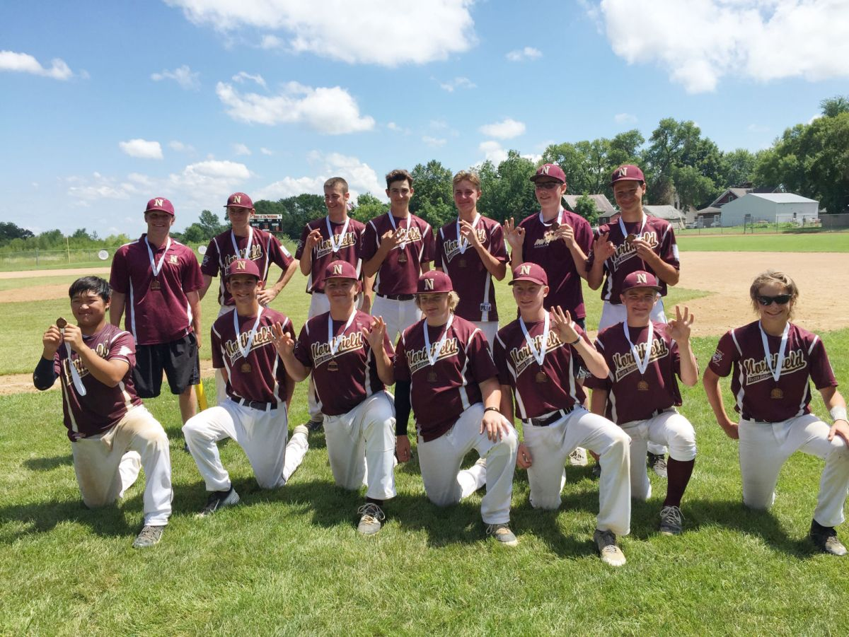 Northfield 15aaa Baseball Team Takes 3rd Msf State