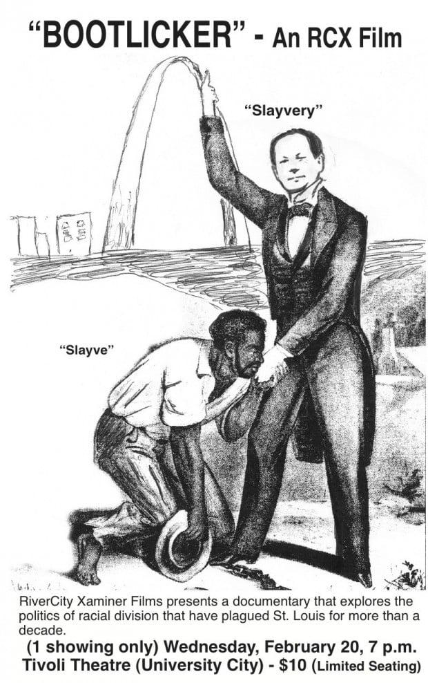 'Slayvery' 'bootlicker' flyer