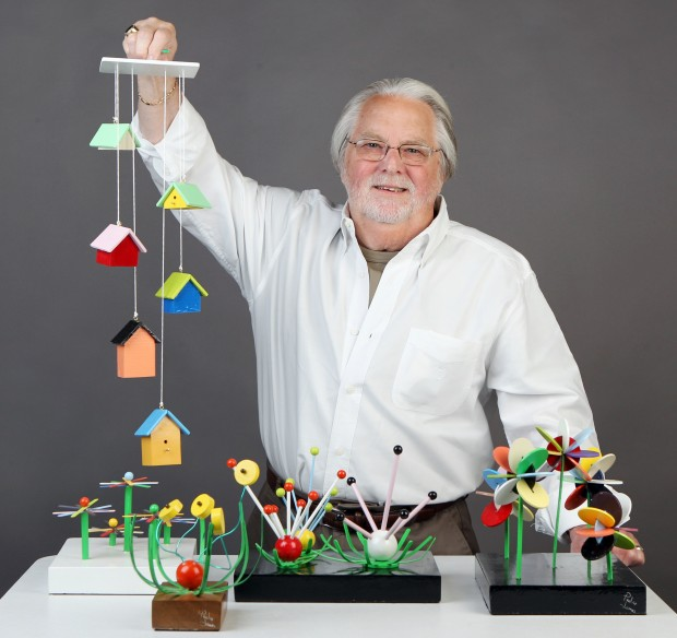 Made in St Louis Wooden mobiles and sculptures  Lifestyles