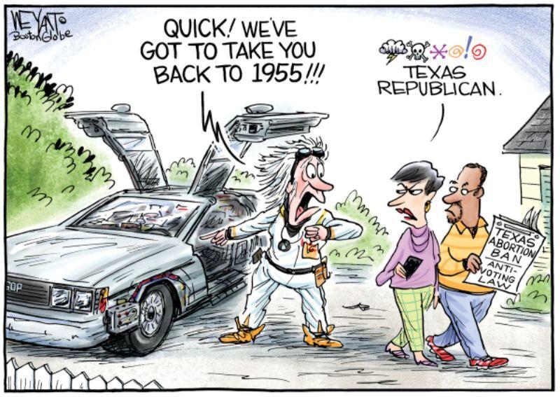 In the cartoons: Texas; NYC flooding; California fires | Editorial |  stltoday.com