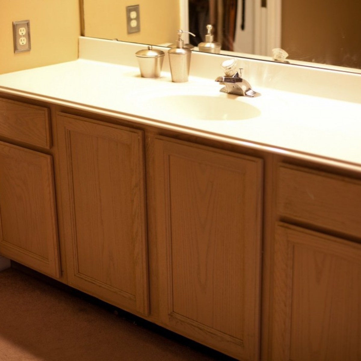 Update Your Bathroom Vanity For Less Than 200 Home Garden Stltoday Com