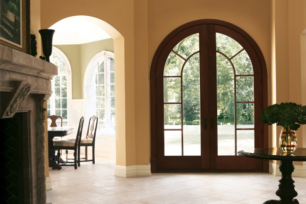 Arches contemporary glass new trends in front doors  Lifestyles