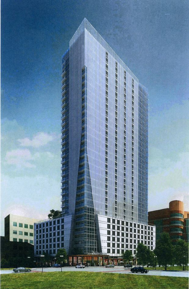 Montgomery proposes 33story Clayton apartment building