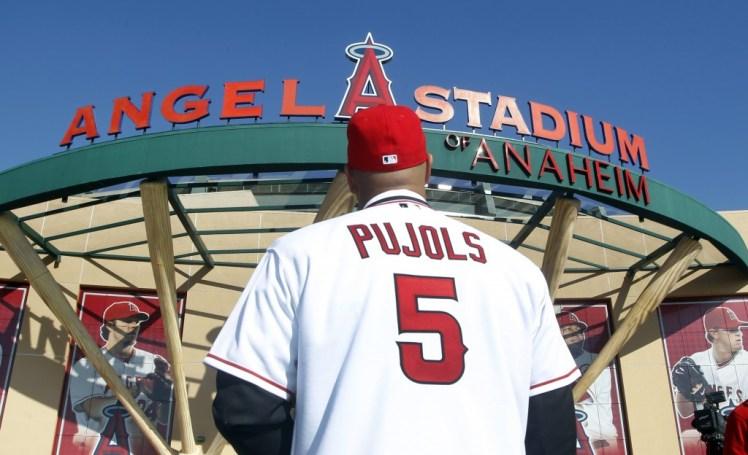 California Dreamin pour Albert Pujols qui signa alors le 3e plus gros contrat de l'Histoire. Photo DR