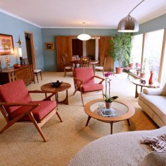 Broyhill Living Room Chairs Contemporary Drapes Gallery: At Home In 1950s Style Ladue Ranch | And ...